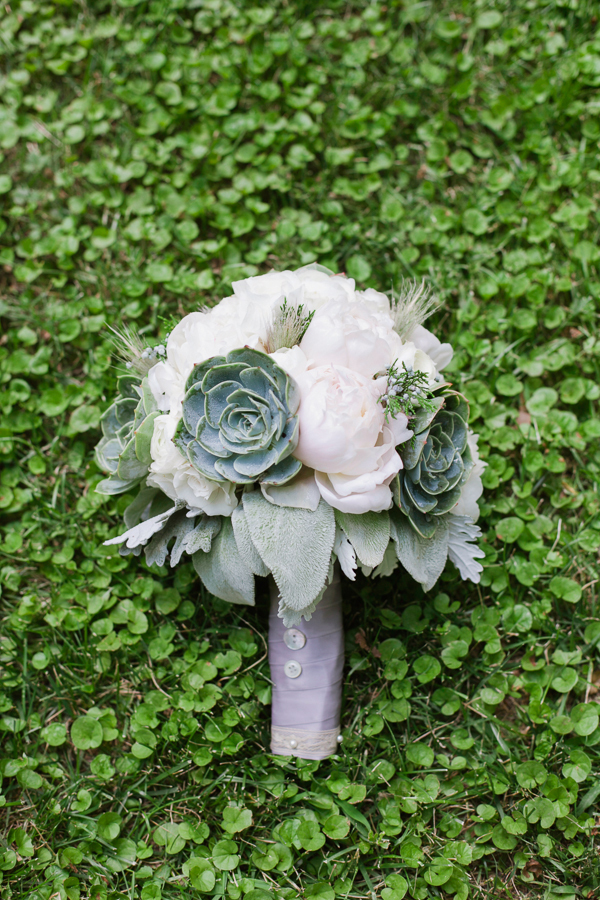 white, green, Bouquet, Wedding, Peonies, Succulent, Brittany jason