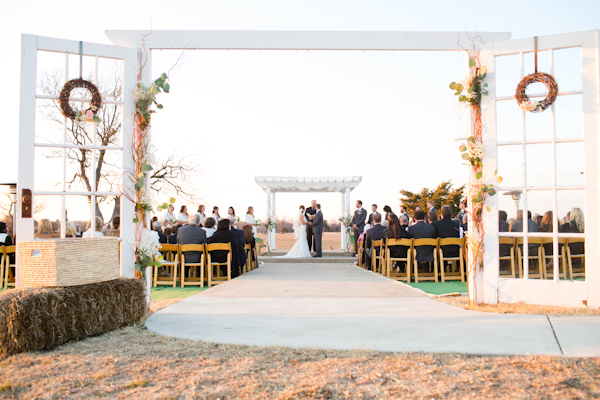Ceremony, Flowers & Decor, Outdoor, Texas, Country, Chic, Victoria john