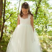 Flowers & Decor, Wedding Dresses, Fashion, ivory, dress, Flower, Girl