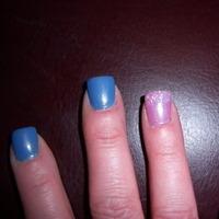 purple, blue