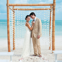 white, blue, Beach, Wedding, Tropical, Sandals, Resorts