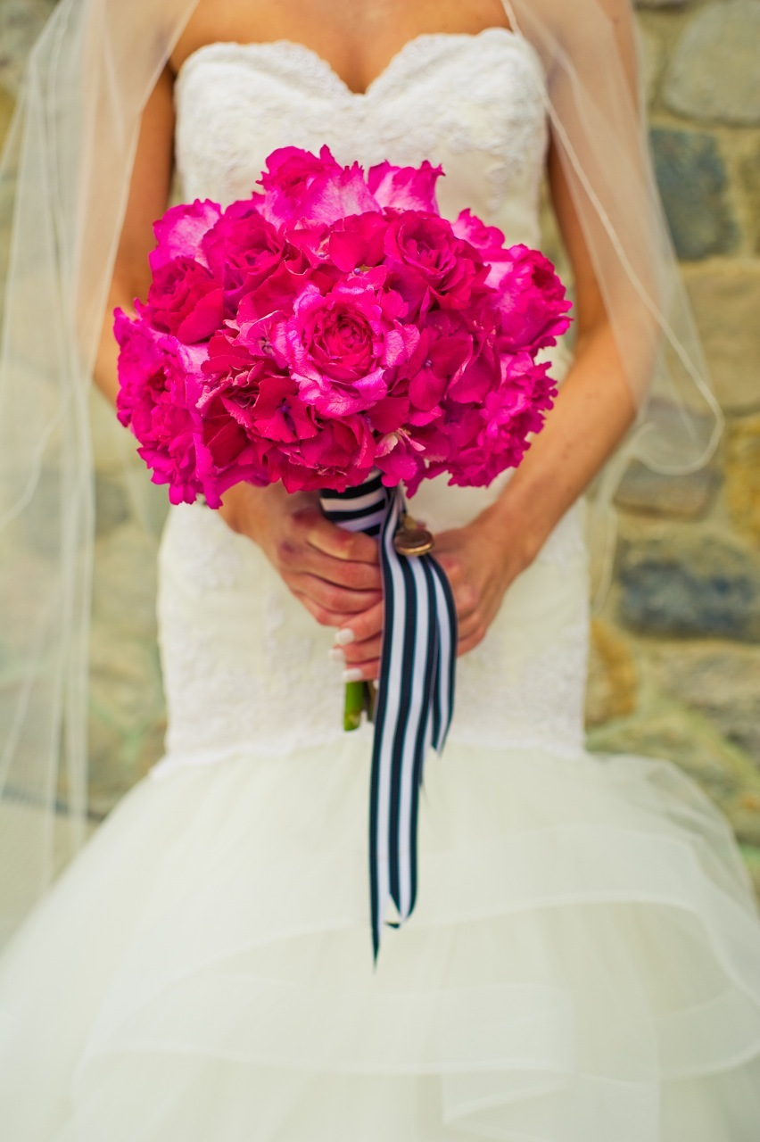 pink, Bouquet, Ribbon, Nyc, Fuschia, Michigan, Grosgrain, Lauren mike
