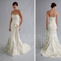Wedding Dresses, Fashion, white, dress, Modern, Bride, Wedding, Autumn, Trousseau, Modern Wedding Dresses