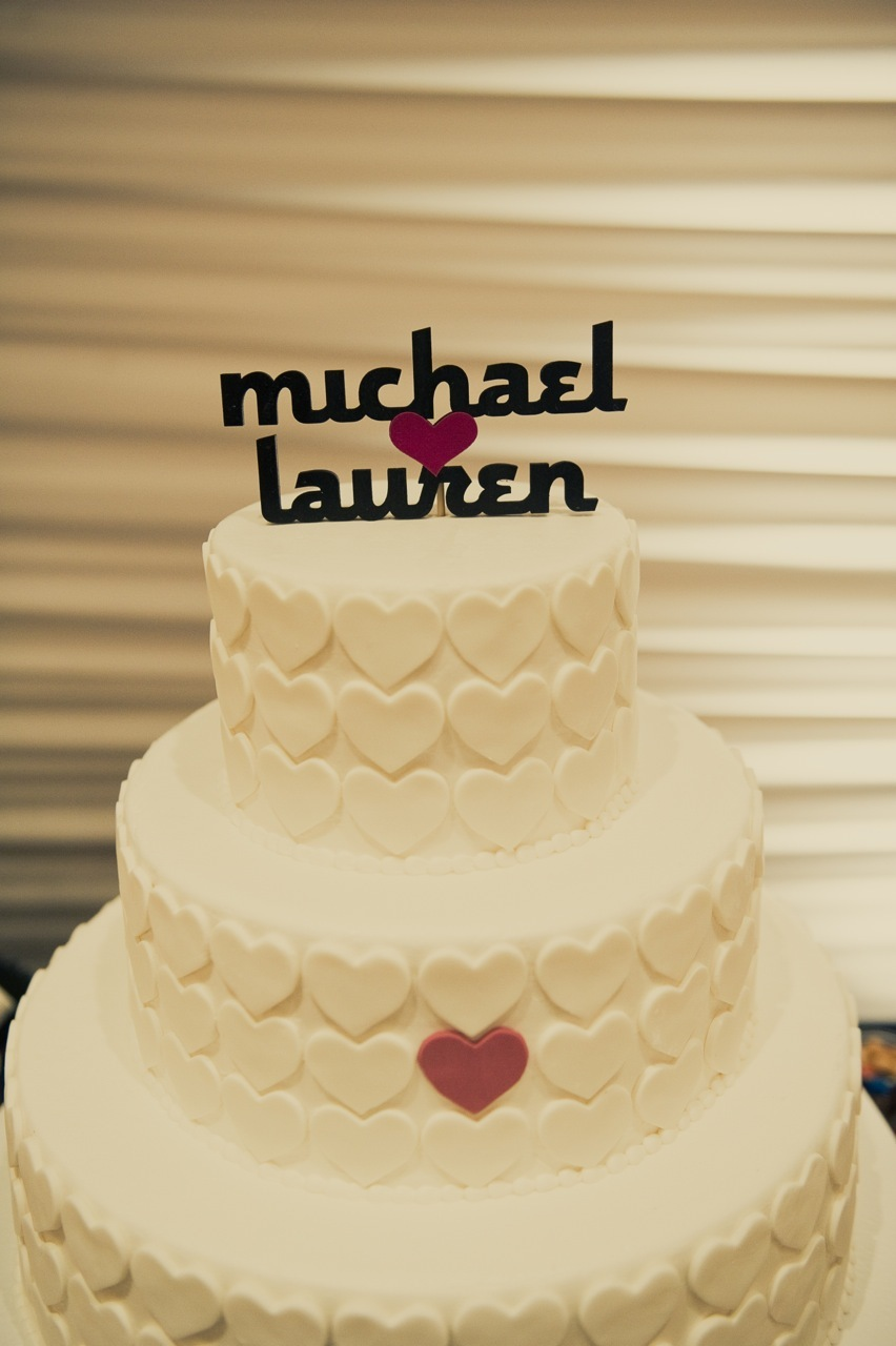 Cakes, white, pink, black, cake, Topper, Graphic, Lauren mike