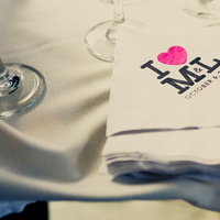white, pink, black, Wedding, Cocktail, Napkin, Logo, Lauren mike