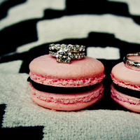 white, pink, black, Rings, Graphic, Macaroon, Lauren mike