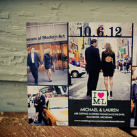 black, City, The, Save, Date, Nyc, Graphic, Lauren mike