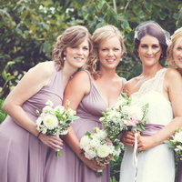 Bridesmaids, Bridesmaids Dresses, Fashion, pink, purple, Dresses, Convertible