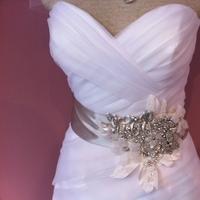 Jewelry, Wedding Dresses, Fashion, white, silver, dress