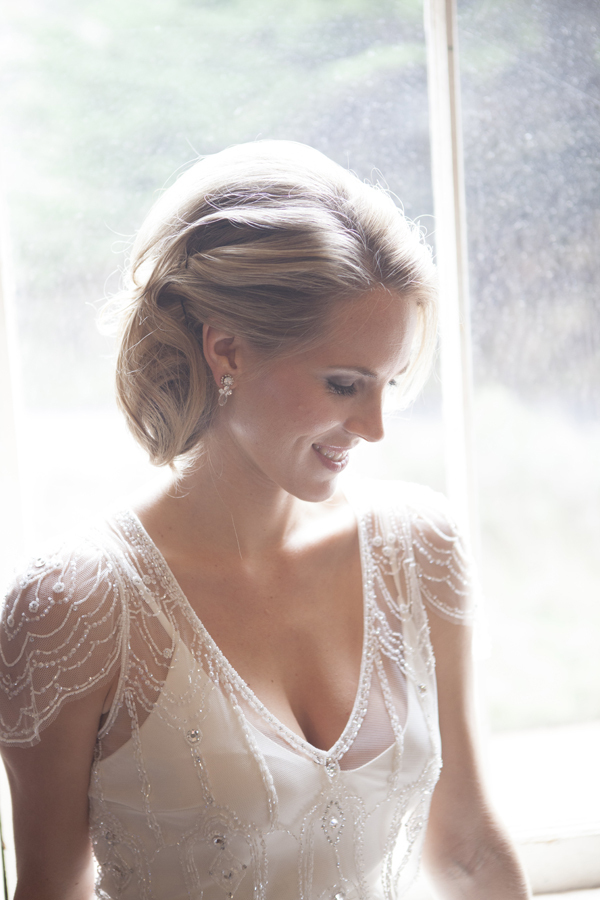 Beauty, Bride, Portrait, Romantic, Sleeves, Blonde, Sheer, Kalista kyle