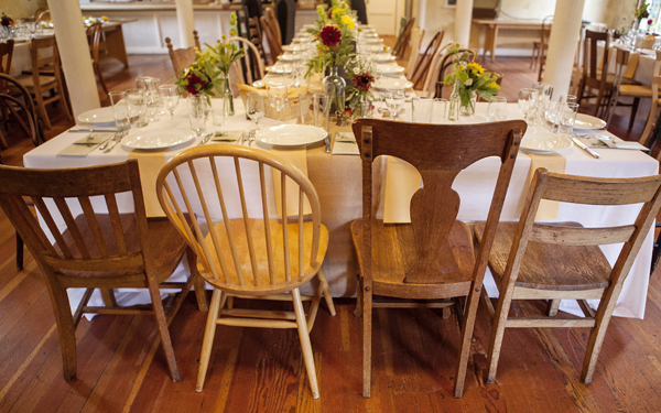 Reception, Flowers & Decor, Rustic, Tables & Seating, Rustic Wedding Flowers & Decor, Wedding, Table, Chairs, Head, Seating, Antique, Kalista kyle