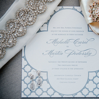Stationery, blue, invitation, Invitations, Shoe, Sparkle, Michelle marty