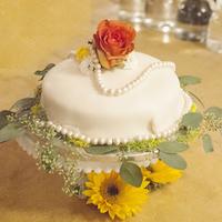 Cakes, cake, Rustic, Wedding, California, Simple, Sunflower, Kalista kyle