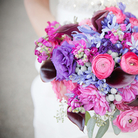 purple, Fall, Bouquet, Bridal, Michelle marty