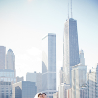 white, black, Fall, Bride, Groom, Wedding, Formal, Chicago, Michelle marty