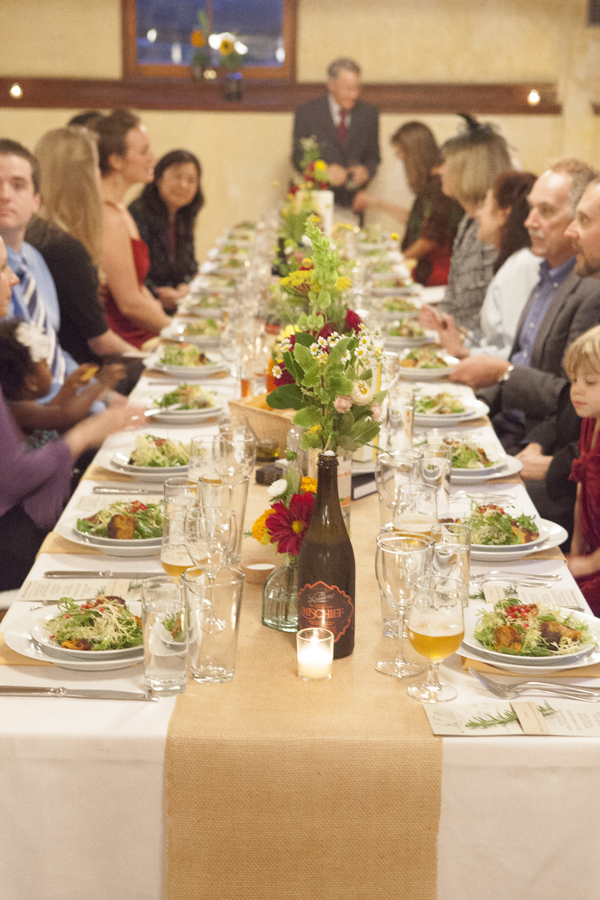 Food, Wedding, Table, Long, Dinner, Seating, Salad, Vegan, Kalista kyle