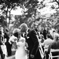 Ceremony, Flowers & Decor, Outdoor, Kiss, Aisle, Eliza don