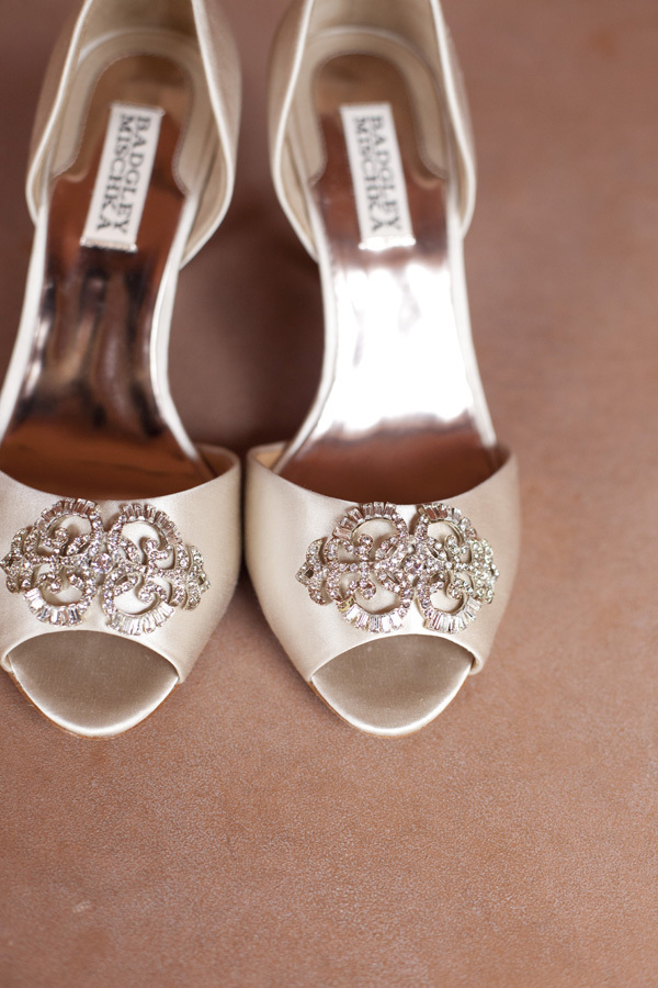 ivory, Bridal shoes, Heels, Champagne, Badgley, Mischka, Lauren doug