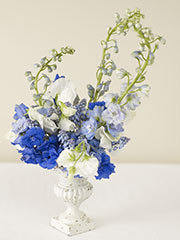 Reception, Flowers & Decor, blue, Centerpieces