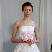 Wedding Dresses, Fashion, white, dress, Spring, Gown, Wedding, Angel, Runway, Sanchez, 2014, Spring Wedding Dresses