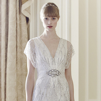 "Wedding Dresses, Fashion, white, dress, Spring, Wedding, Bridal, Dresses, ""jenny, Packham, 2014, Spring Wedding Dresses"