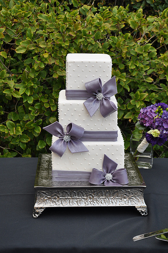 Cakes, white, purple, cake