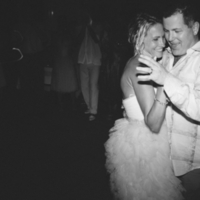 Reception, Flowers & Decor, Wedding Dresses, Beach Wedding Dresses, Destinations, Fashion, white, dress, Beach, Beach Wedding Flowers & Decor, Dance, Wedding, Destination, Amy kenn