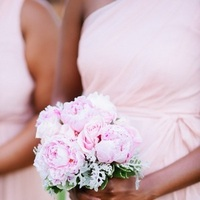 Bridesmaids, Bridesmaids Dresses, Fashion, pink, Bouquet, Bridal party, Pastel, Eliza don