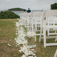 Flowers & Decor, Decor, Destinations, white, Beach, Wedding, Destination, Aisle, Islands, Virgin, Amy kenn