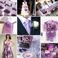 Reception, Flowers & Decor, purple, silver, Inspiration board