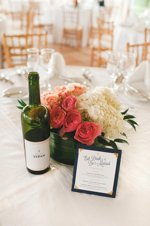Reception, Flowers & Decor, Decor, Beach, Centerpieces, Beach Wedding Flowers & Decor, Wedding, Wine, Bottle, Amy kenn