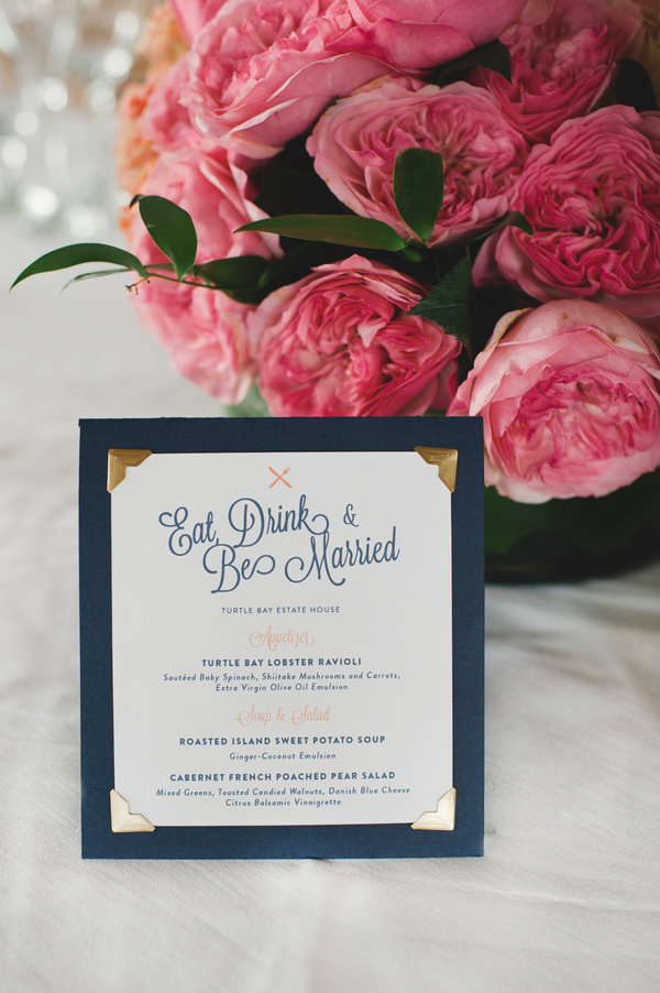 Stationery, pink, Centerpieces, Menu, Wedding, Amy kenn
