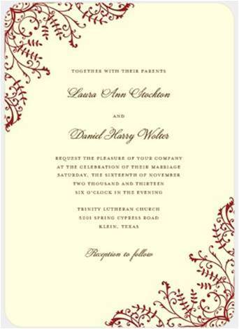 Stationery, white, ivory, red, invitation, Invitations, Inspiration board, Love, Crimson, Ecrue