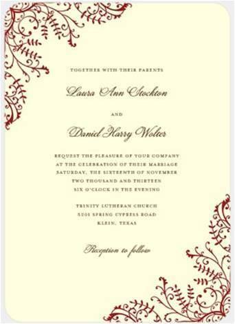 Stationery, white, ivory, red, invitation, Invitations, Inspiration board, Love, Crimson, Ecrue