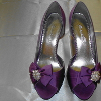Shoes, Fashion, purple, Bling