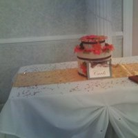 Reception, Flowers & Decor, orange, red, brown