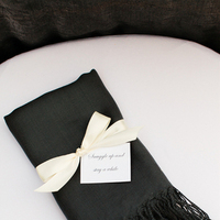 Flowers & Decor, Favors & Gifts, white, black, Favors, Fall, Classic, Garden, Wedding, Formal, Scarf, Pashmina, Sarah dan