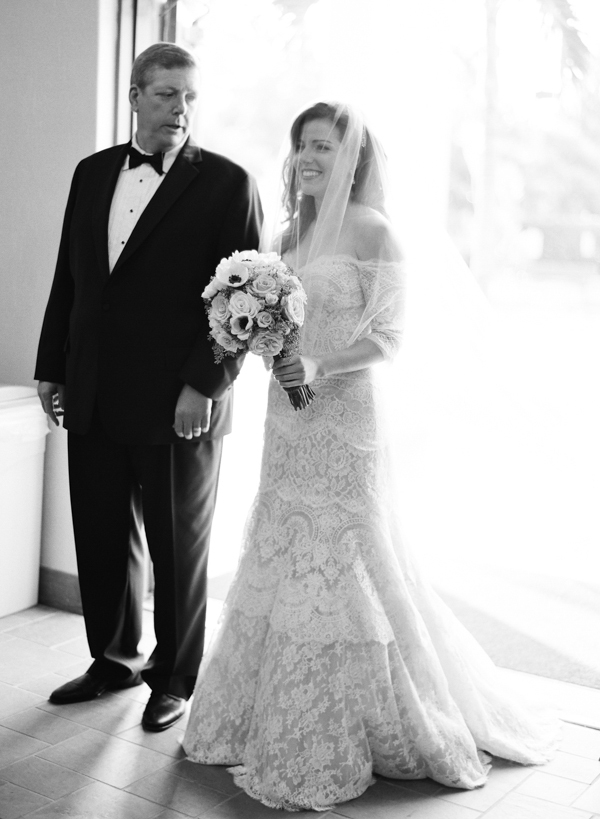 Veils, Fashion, Down, Bride, Veil, Father, Walking, The, Aisle, Florida, Formal, Scott sarah, Formal Wedding Dresses