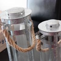silver, Beach, Wedding, Rope, Lanterns
