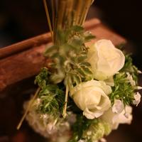 Ceremony, Flowers & Decor, white, green, Ceremony Flowers, Flowers