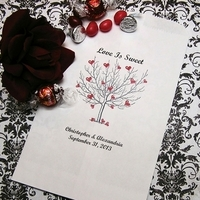 Reception, Flowers & Decor, Favors & Gifts, white, red, black, favor, Favors, Bags, Hearts