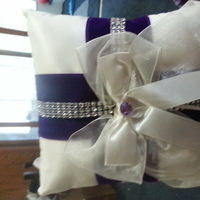 Ceremony, Flowers & Decor, purple, Ring, Bearer