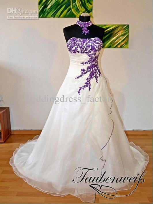 Wedding Dresses, Fashion, purple, blue, dress, My