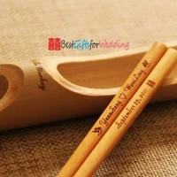 Favors & Gifts, brown, Favors, Chinese style favor, Engraved chopsticks, Personalized favor