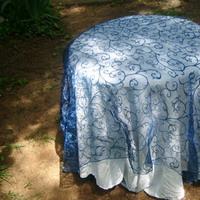 Reception, Flowers & Decor, blue, Tablecloth, 54