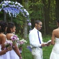 Ceremony, Flowers & Decor, white, purple, Lavender