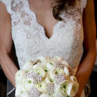 white, Winter, Classic, Bouquet, Natalia michael