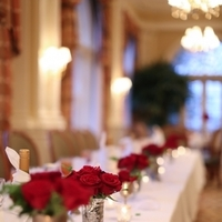 Reception, Flowers & Decor, Decor, red, Centerpieces, Classic, Tables & Seating, Romantic, Tables, Stephanie johnny
