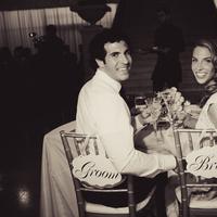 Flowers & Decor, Decor, Toast, Wedding, Chair, Couple, Signs, Natalia michael