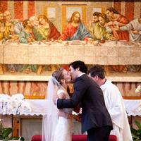 Kiss, Vows, Church, Chicago, Natalia michael